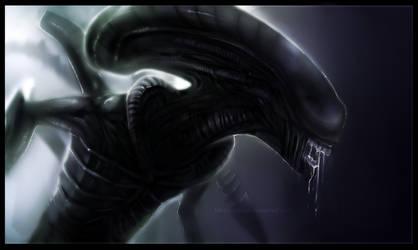 Xenomorph Speedpaint by Ink-Leviathan