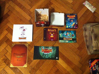 Rayman Press Kits And History Book by OldClassicGamer