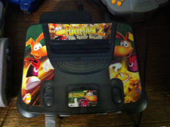 Rayman-Themed Nintendo 64 by OldClassicGamer