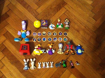 Rayman Collection #3 (Rayman Merchandise) by OldClassicGamer