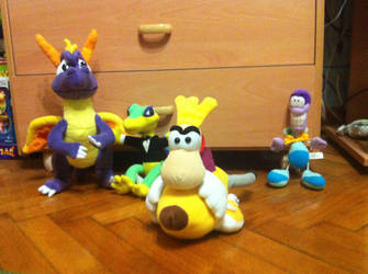 My Gaming Plushies by OldClassicGamer