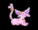 Pokemon - Espeon OC (Hana) by ZoruDawn