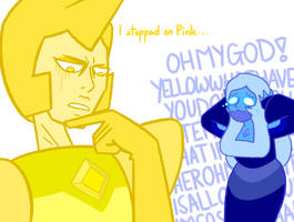 Meanwhile while Steven's still unconscious by KCastell2H
