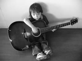 Guitar Child by jehrt