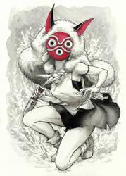 Princess Mononoke by Hsk0254
