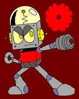 Robot Jones (Mega Man SSBU)  by LoudandProudFanGirl