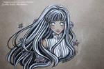 Sketch color Hinata Hyuga - Fanart Naruto The Last by CrisEsHer