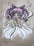 Sketch Color Small Lady - Fanart Sailor Moon by CrisEsHer