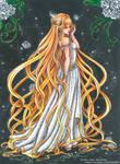 The Golden Godess - OC by CrisEsHer