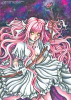 Madoka Goddess - Fanart Madoka Magica by CrisEsHer