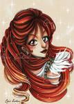 Sephilos girl collection - Hotaru OC 5 by CrisEsHer