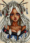 Sephilos girl collection - Adam Kadmon OC 9 by CrisEsHer
