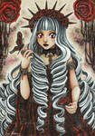 Queen Miyu OC by CrisEsHer