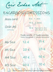 Comissions open - Cris Esher Art by CrisEsHer
