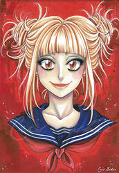 Himiko Toga - fanart Boku no Hero Academia by CrisEsHer