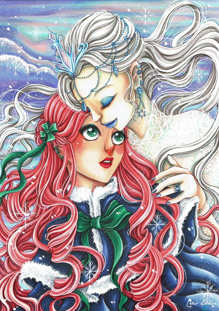 The Winter hugs me by CrisEsHer
