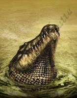 Another Crocodile Smirk by amorousdino