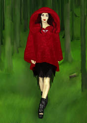 Red ridding hood by Beatrycze1987