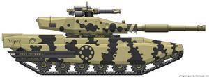 Viper Main Battle Tank by Sharkour