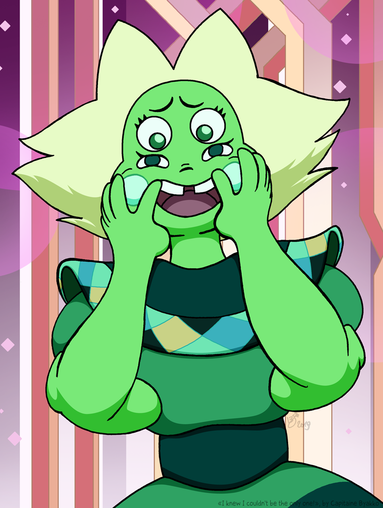"The jade fusion from Steven Universe's episode ""Together Alone"" ^^"