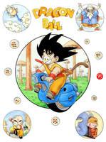 Dragon Ball by alfiov