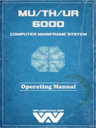 MU/TH/UR 6000 Operating Manual Mockup by dyveira