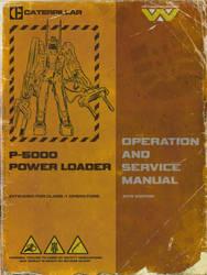 P-5000 Power Loader Manual Mockup by dyveira