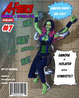 A-Force Missions:Stimulate - Gamora by KaganeTK