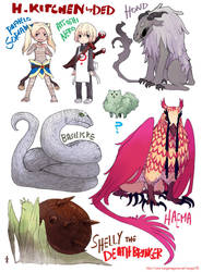 Creatures by demitasse-lover
