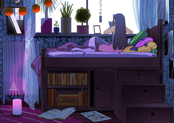 Ramia's Room by demitasse-lover