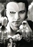 PHANTOM - Gerard Butler by akaLilith