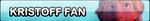 Kristoff Fan button by Pixelated--Coffee