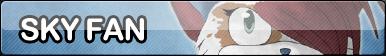 Sky fan button. by Pixelated--Coffee