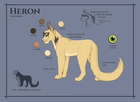 Heron Reference Sheet by KanuTGL