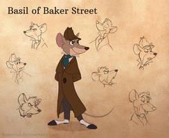 Basil of Baker Street by KanuTGL