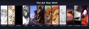 2015 Summary of Art by KanuTGL
