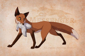 A Fox Named Rose by KanuTGL