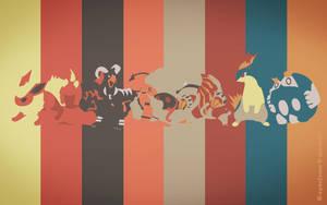 Pokemon Spectrum - Fire by EYEofXANA