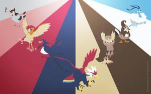 Pokemon Spectrum - Flying by EYEofXANA