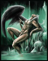 Sephiroth-Materia Bath by Destinyfall