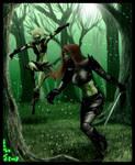 Ala vs the Ninja Commission by Destinyfall