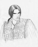 Ezio sketch XD by Destinyfall
