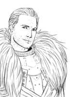 Commander Cullen (sketch) by Destinyfall