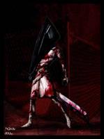 Pyramidhead 'Silent hill2' by Destinyfall