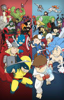 Marvel vs. Capcom 3 by Sughly
