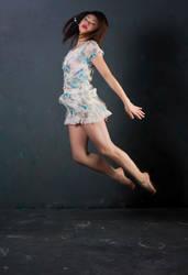 flowerpower jump jump by freestockswirls