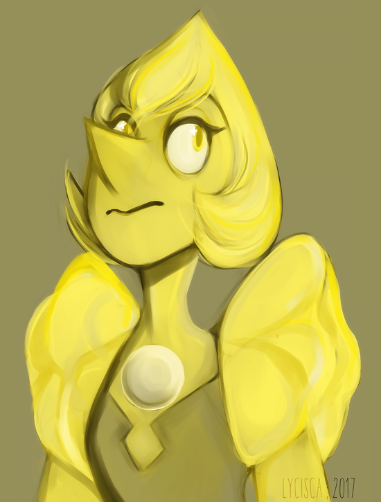 Day 3 features Yellow Diamond's Pearl! What is Huevember? Huevember is a month long art challenge (like Inktober in October for example). Each day is a colour/hue prompt. Official Blog/Prompts - hu...