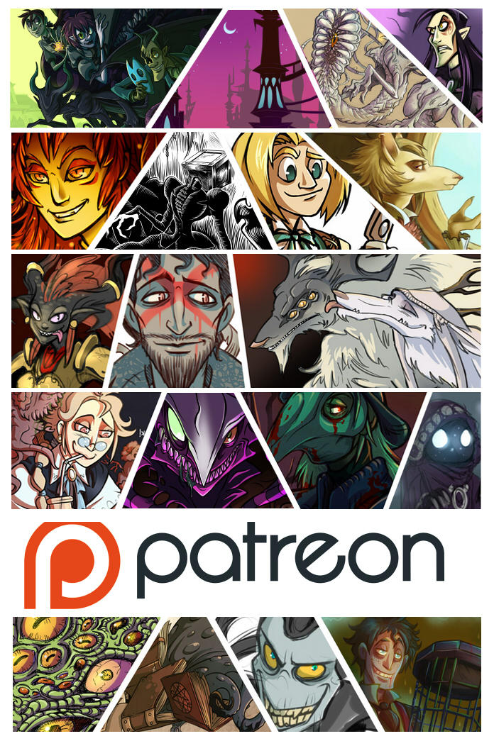 .Patreon Account! :D. by MalakiaLaGatta