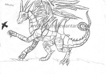 Nakourou sketch by Strah