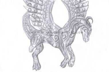 DragonFormsclub Collage Sketch by Strah